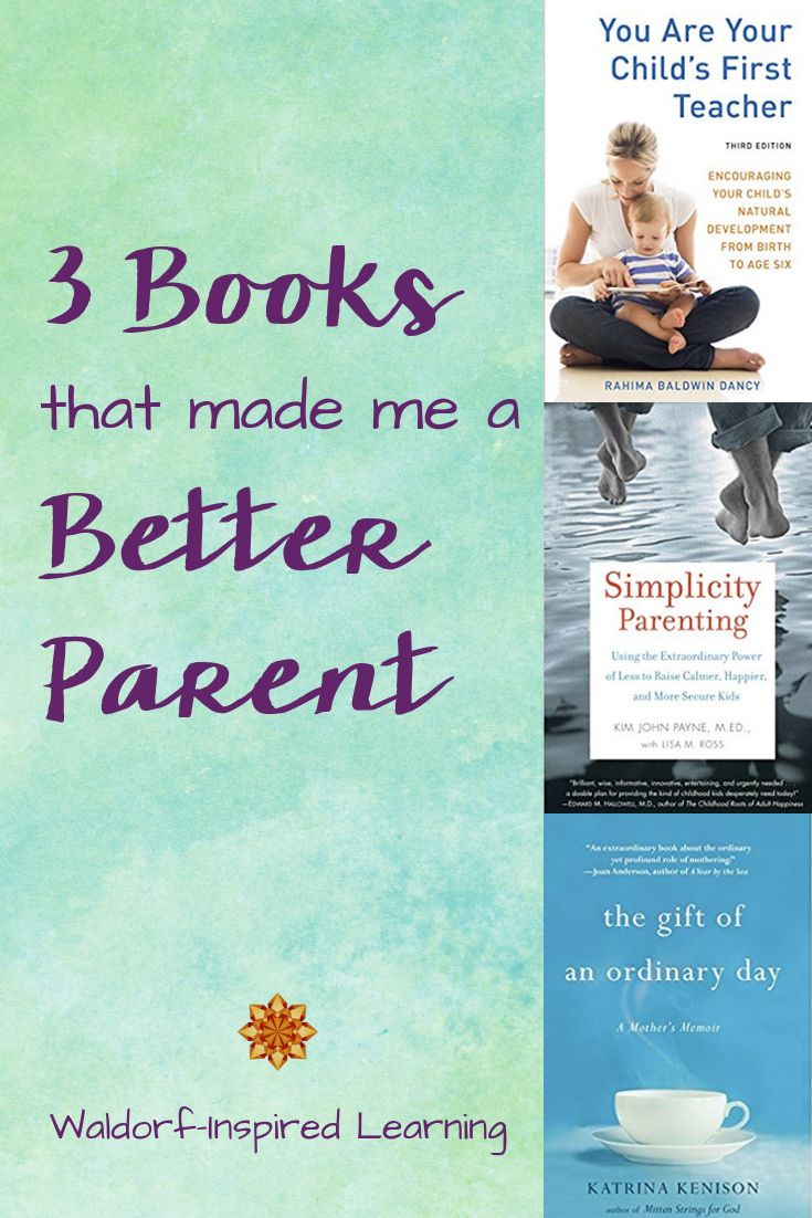 3 Books that made me a Better Parent