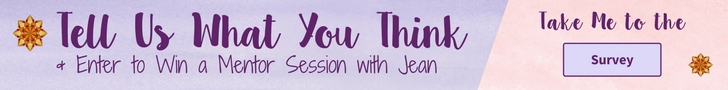 Tell Us What You Think & Enter to Win a Mentor Session with Jean