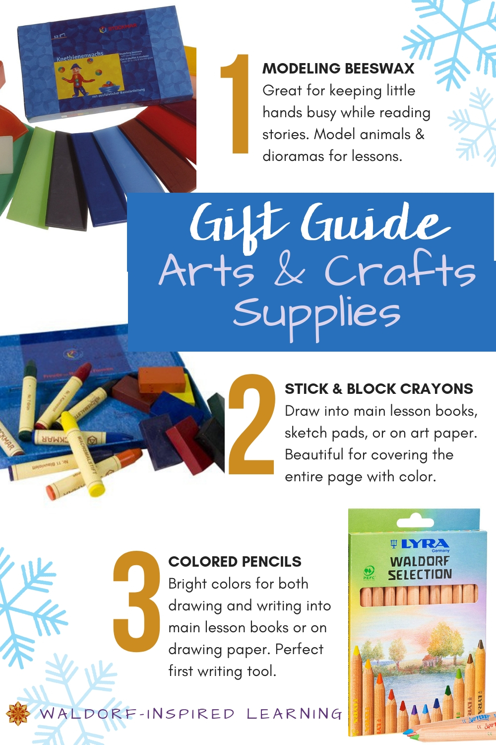 Gift Guide Arts & Crafts Supplies