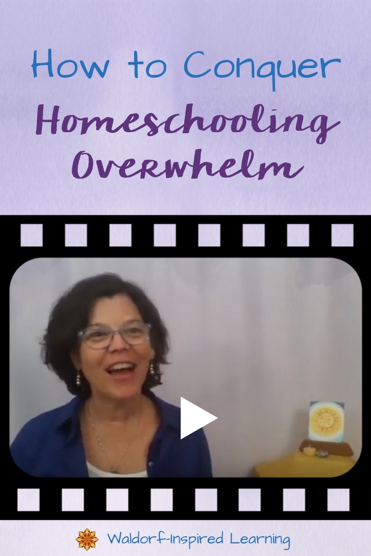 How to Conquer Homeschooling Overwhelm