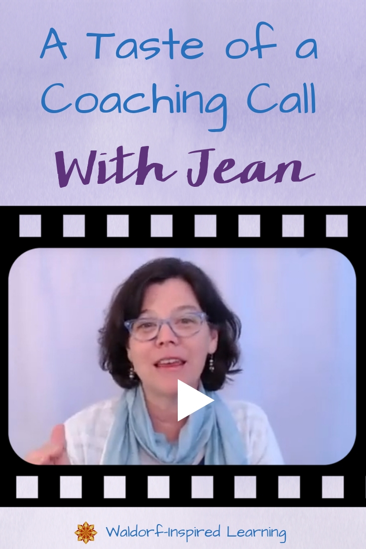A Taste of a Coaching Call with Jean