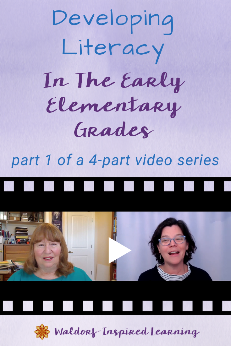 Developing Literacy in the Early Elementary Grades: part 1 of 4-part video series