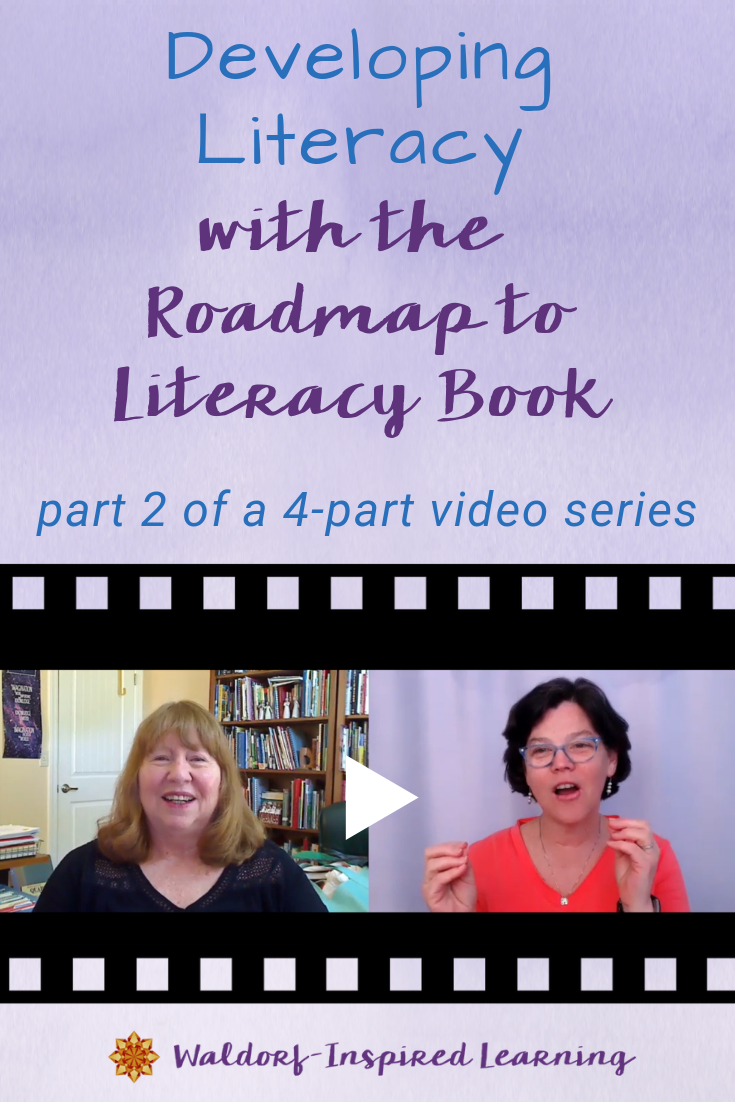 Developing Literacy with the Roadmap to Literacy Book: part 2 of 4-part video series