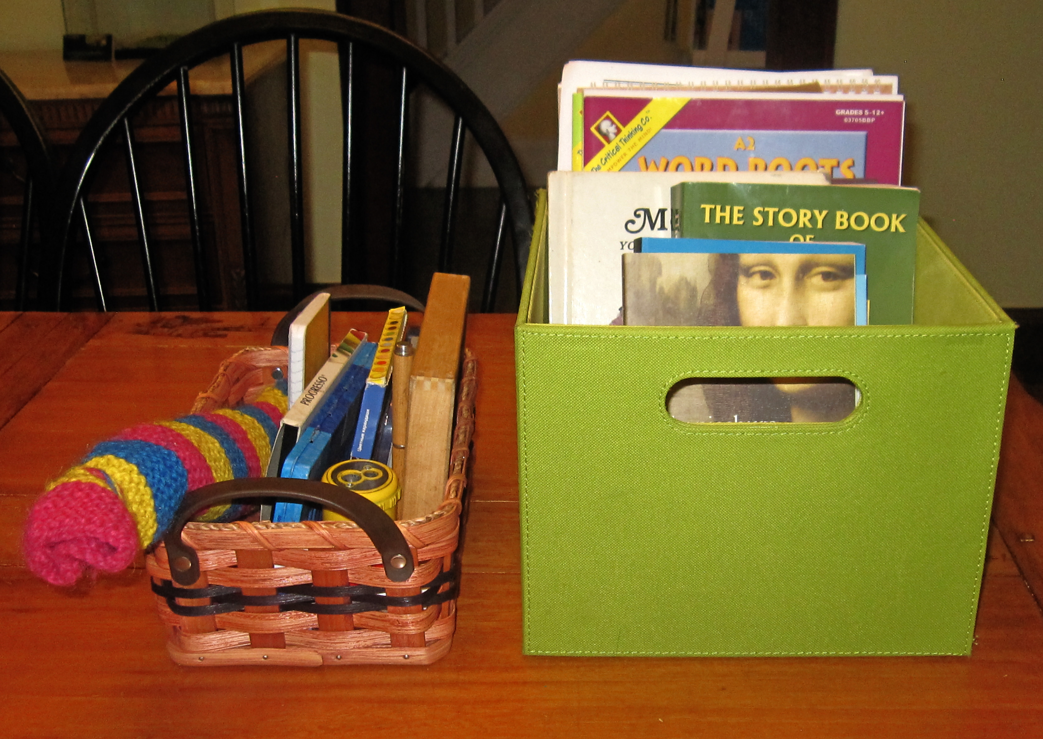 Getting started with Waldorf homeschooling - setting up your space