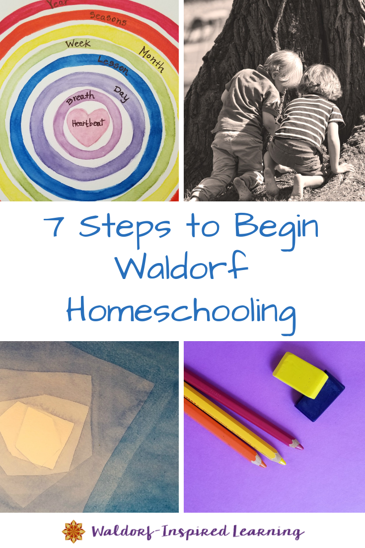 painting, drawing, children playing, Waldorf main lesson book, getting started with Waldorf homeschooling