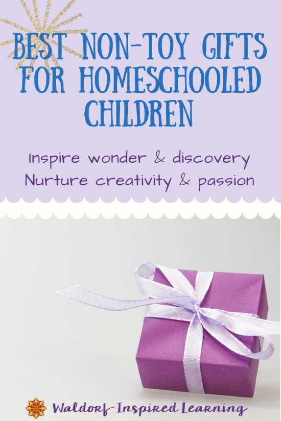 Best Non-Toy Gifts for Homeschooled Children