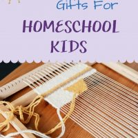 Best Non-Toy Gifts for Homeschool Kids