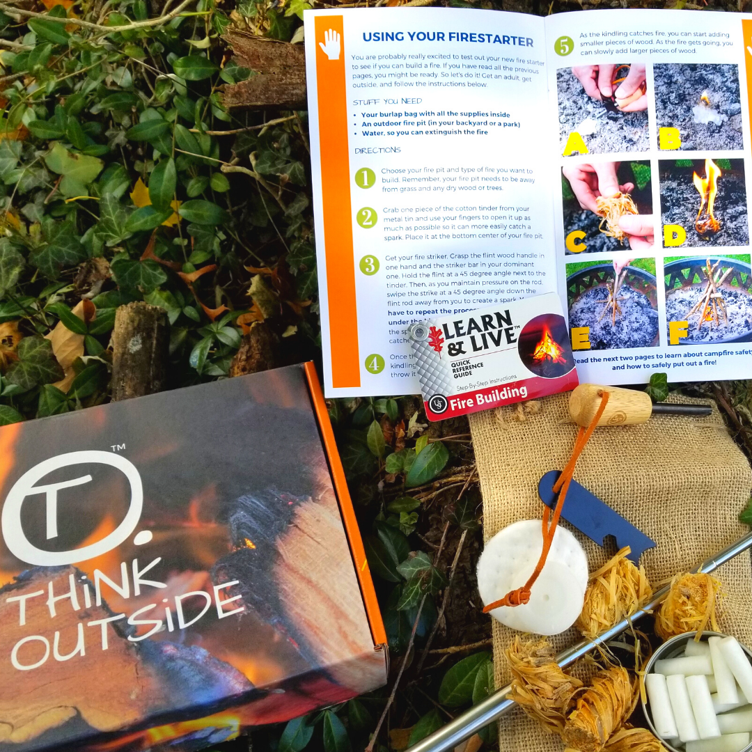 3 Tips to Take Homeschooling Outside with THiNK OUTSiDE BOXES
