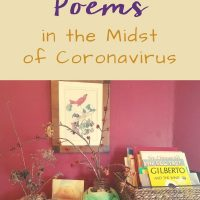 Spring Poems in the Midst of Coronavirus