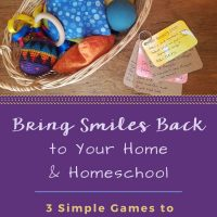 Sprinkle Some Smiles on Your Homeschooling Day