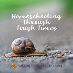 Homeschooling Through Tough Times masterclass series from Waldorf-Inspired Learning