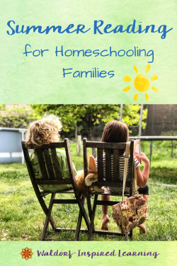 Summer Reading for Homeschooling Families