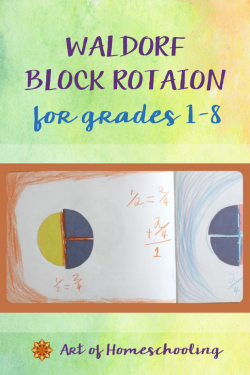 Waldorf Block Rotation for Homeschoolers, Grades 1-8