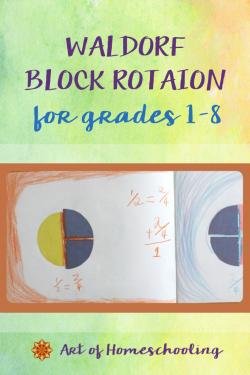 Waldorf Block Rotation for Homeschoolers, Grades 1-8