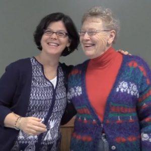 Jean Miller & Barbara Dewey at the Taproot Teacher Training