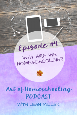 Why are we homeschooling? A homeschool vision statement can REALLY help to guide you on your homeschooling journey and as a family!