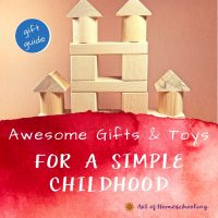 Awesome Gifts & Toys for a Simple Childhood