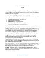 Sample Homeschool Vision Statement