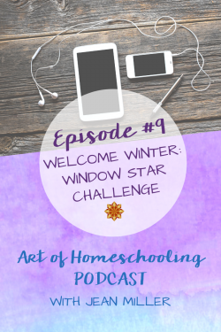 Wecome Winter with the Window Star Challenge