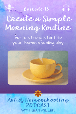 Create a Simple Morning Routine