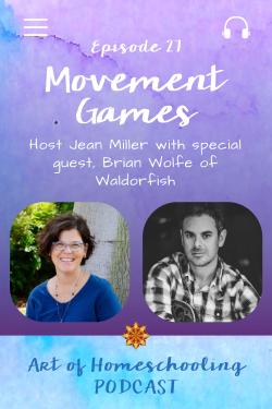 Movement Games & Activities for Homeschoolers